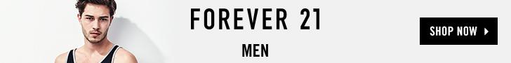 Forever 21 Mens - 728x90