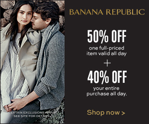 50% off 1 Regular Priced item
