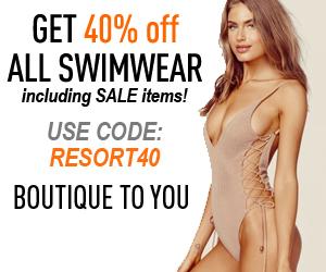 Swimwear Sale Use Code Resort40