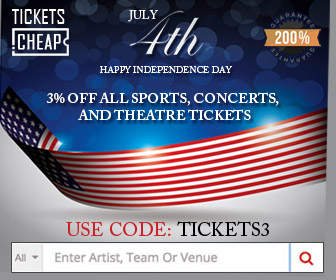 4th of July Coupon Tickets.Cheap