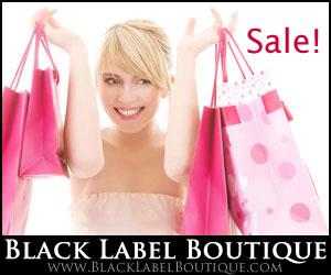 Sale at Black Label Boutique!