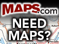 The World's Largest Online Map Store!