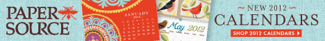 2011 Paper Source Calendars