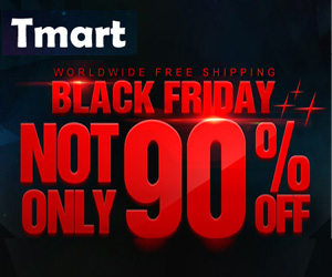Tmart Black Friday - Up to 90% off