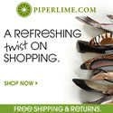 Piperlime women's large size shoes