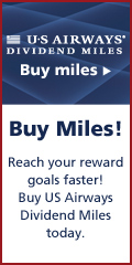 Buy US Airways® Dividend Miles® today!