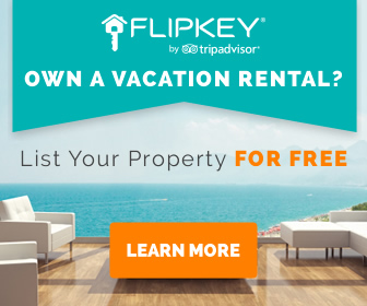 Own a vacation rental? List your property for free on FlipKey & TripAdvisor