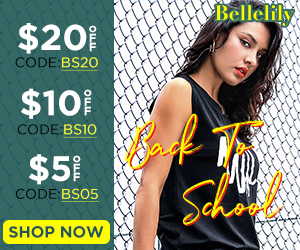 Bellelily Back To School Promotions