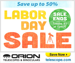 Save up to 30% on Orion's Red Tag Sale
