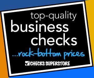 Order business checks from Checks-SuperStore.com