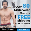 Designers mens underwear at Freshpair