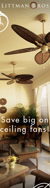 Save big on ceiling fans at LittmanBros.com!