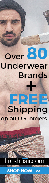 Freshpair - Men's underwear, t-shirts, socks and more!