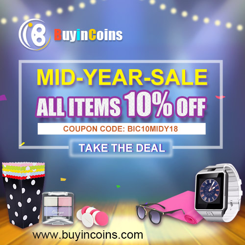 Mid Year SALE - All Items 10% OFF!