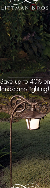 Save big on landscape lighting at LittmanBros.com!