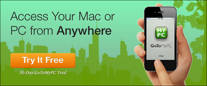 Access Your Mac® orPC from Anywhere - Free Trial