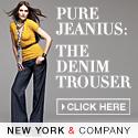 Buy 1 get 1 75% off pants at New York & Compan