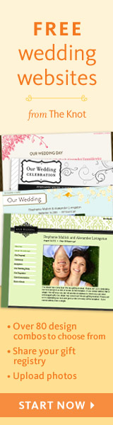 Free Wedding Websites from TheKnot.com