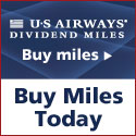 Buy US Airways® Dividend Miles® today! air tickets shopping