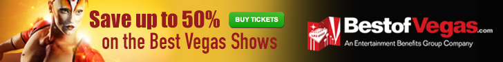 Save up to 50% on the Best Vegas Shows!