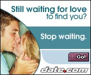 Date.com - Stop Waiting for Love to Find You