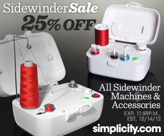 25% Off Portable Bobbin Winder at Simplicity.com