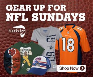 Gear Up For NFL Sundays!
