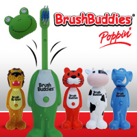 Brush Buddies Poppin' Toothbrushes for Kids