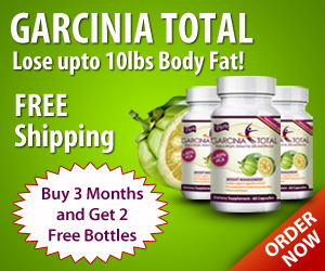 Garcinia Total Lose Upto 10 lbs Body Fat! Buy 3 Months and Get 2 Free Bottles with Free Shipping!