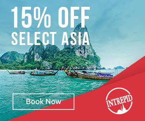 15% off East and Southeast Asia