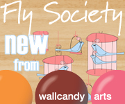 Fly Society Wall Decals