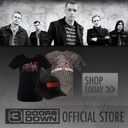 3 Doors Down Official Store - Shop Now