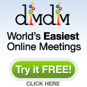 Try Dimdim for the World's Easiest Onlline Meeting