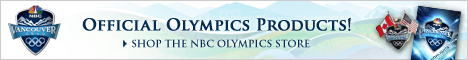 NBC Vancouver Olympics Store - apparel, pins, DVDs