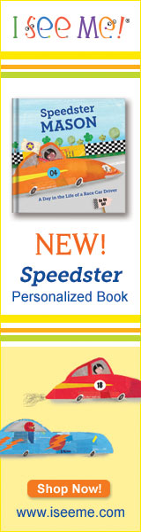 Speedster book at ISeeMe