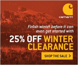 300x250 25% Winter Clearance Banner