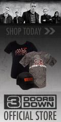 3 Doors Down Official Merchandise