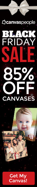 Get UP to 93% Off on Canvas Prints.