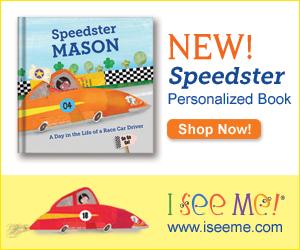 Speedster book at ISeeMe
