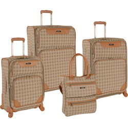 New Lower Price Nine West Addison 4 Piece Spinner Luggage Set Now Only $199.95. Org. $1,160.00 Plus Free Shipping Use Promo Code ADNW at Checkout.
