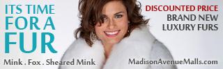 Mink Fox Fur Sheared Mink