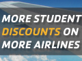STA Travel has more discounts than the competition