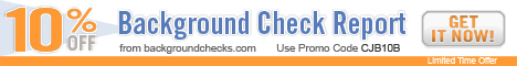 10% Off Background Check Report