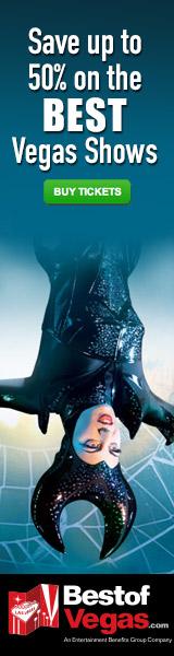 Ahorra hasta un 50% en los mejores Shows de Las Vegas!- Lo Mejor de las Vegas - Hoteles - Shows - Casinos - Atracciones - Tours - Nightclubs