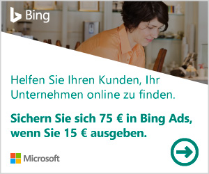 Jetzt Bing Werbeanzeigen schalten