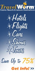 Save up to 75%, hotels, cars, shows Las Vegas