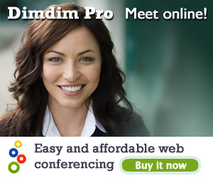 Dimdim Pro, Meet Online, Buy it now!