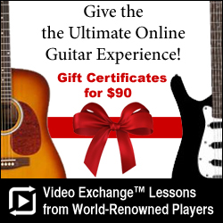 10% Off Guitar Lessons