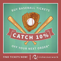 Buy Baseball Tickets + Save!
