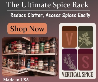 Click Here to Shop Over 20 Different Drawer-Style Racks at Vertical Spice Racks! Reduce Cabinet & Countertop Clutter and Support The Garden Oracle with Your Purchases!